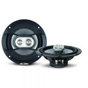 """CALCDS16G Caliber 6.5"""" 3-Way Coaxial Speakers with Grills Main Image"""