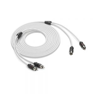 JLM-XMD-WHTAIC2-12 JL Audio 2 Channel Interconnect Cable - 12 ft Main Image