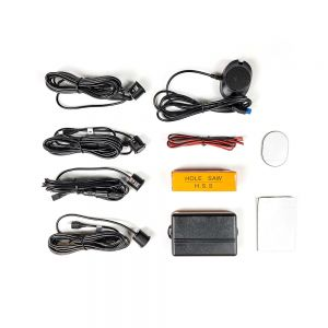 PS5704 Parking Sensors Rear 4 Eye With Buzzer & Removable Sensors Main Image